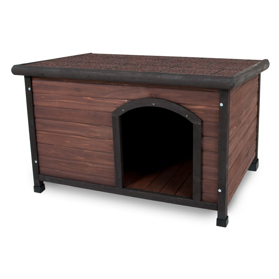 Aspen Pet 2.3-ft x 2.17-ft x 3.4-ft Cedar Dog House