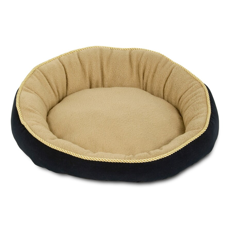Aspen Pet Polyester Round Dog Bed