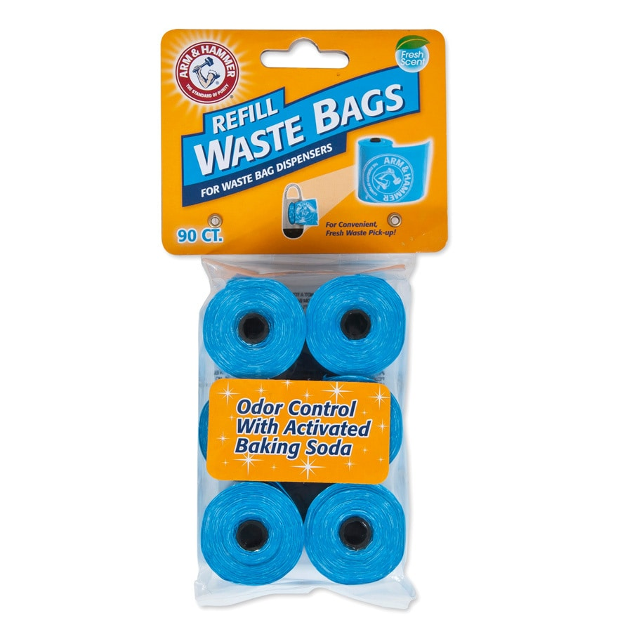 ARM & HAMMER 90-Count Scented Pick-Up Bag Refills
