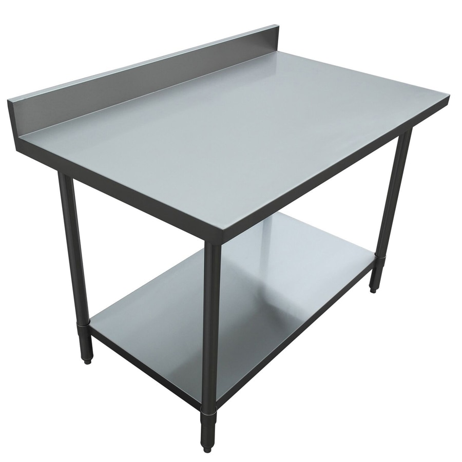 Excalibur 34-in x 48-in Stainless Steel Commercial Food Prep Table