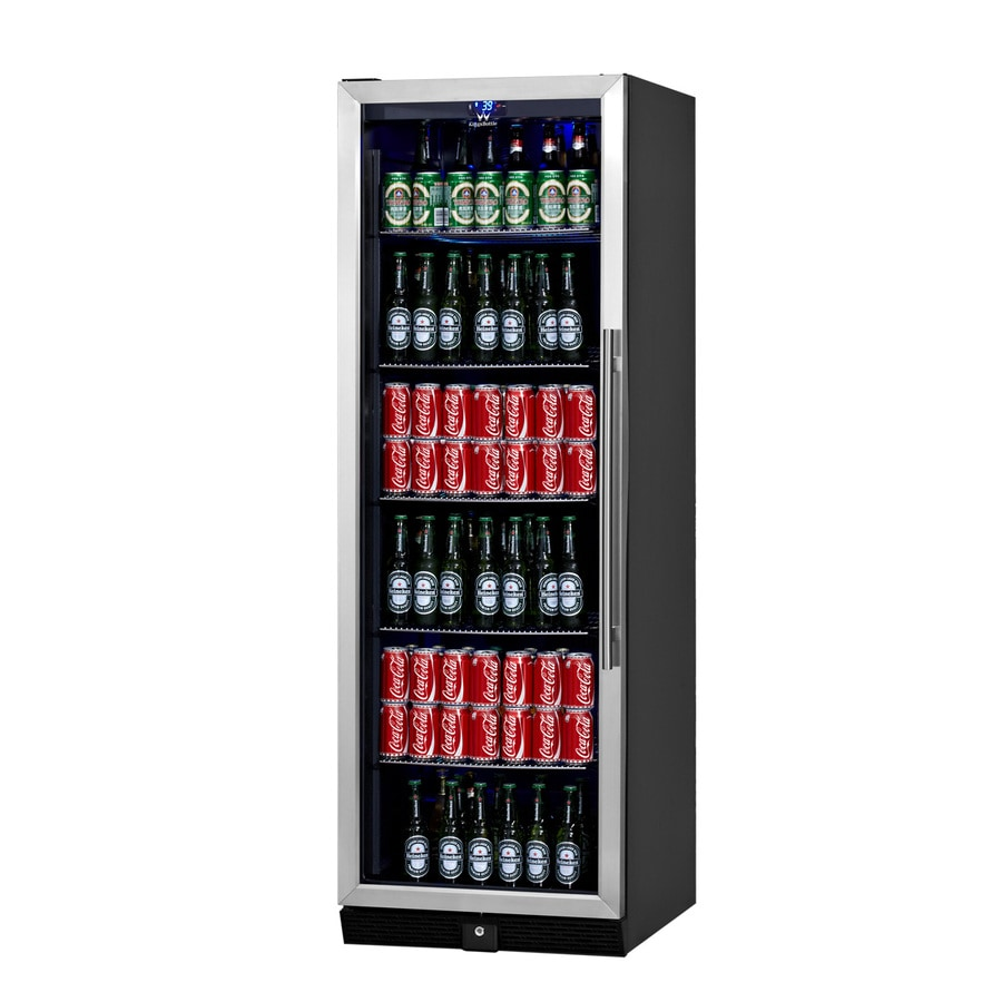 KingsBottle 14.3-cu ft Stainless Built-In/Freestanding Commercial Beverage Center