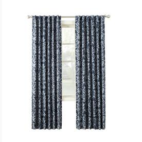 allen + roth MARBELLA 84-in Indego Polyester Room Darkening Thermal Lined Single Curtain Panel