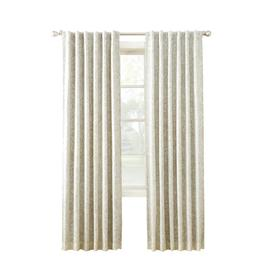 allen + roth MARBELLA 84-in Linen Polyester Room Darkening Thermal Lined Single Curtain Panel