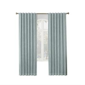 Shop curtains drapes at - Epic window treatment decoration with slate blue curtain ...