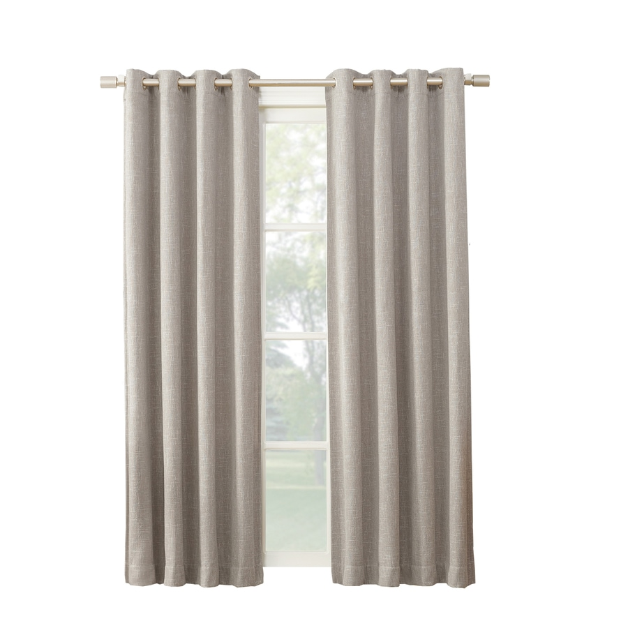 room grommet on curtain x shopping window cotton line w solid deals deconovo cheap curtains at pair recycle guides find