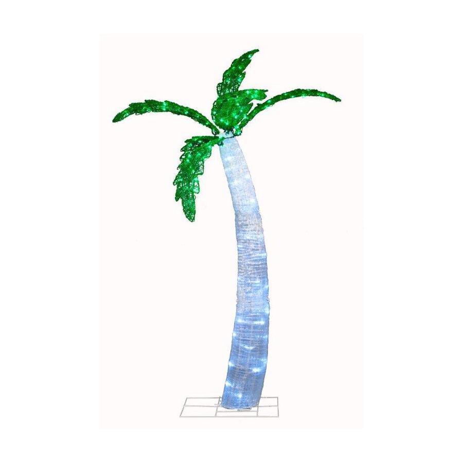 Holiday Living 6-ft Plastic 140 LED LightsTwinkling Christmas Palm Tree