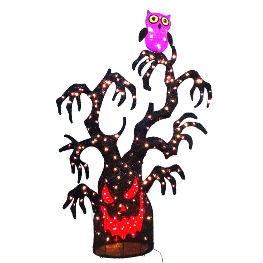 holiday living spooky tree outdoor halloween decorations - Lowes Halloween Decorations