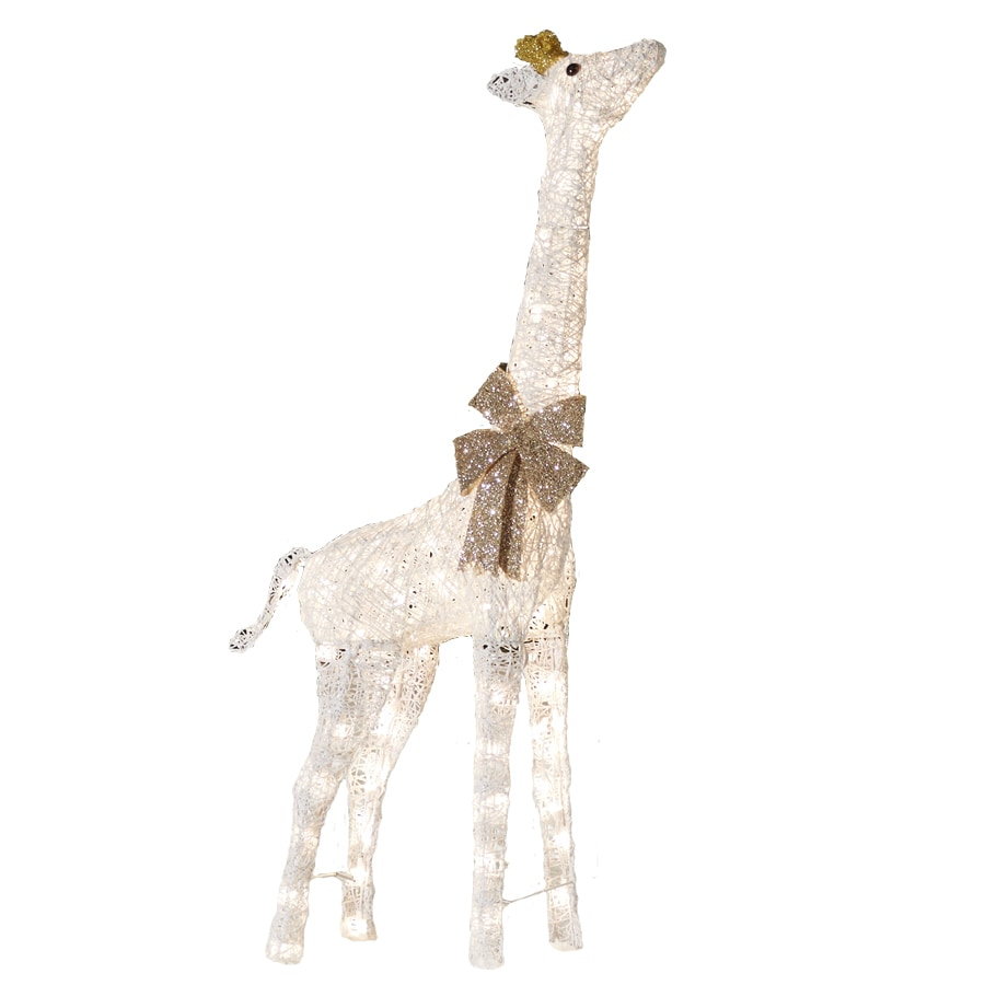 Write a Review about Holiday Living Pre Lit Giraffe Sculpture with