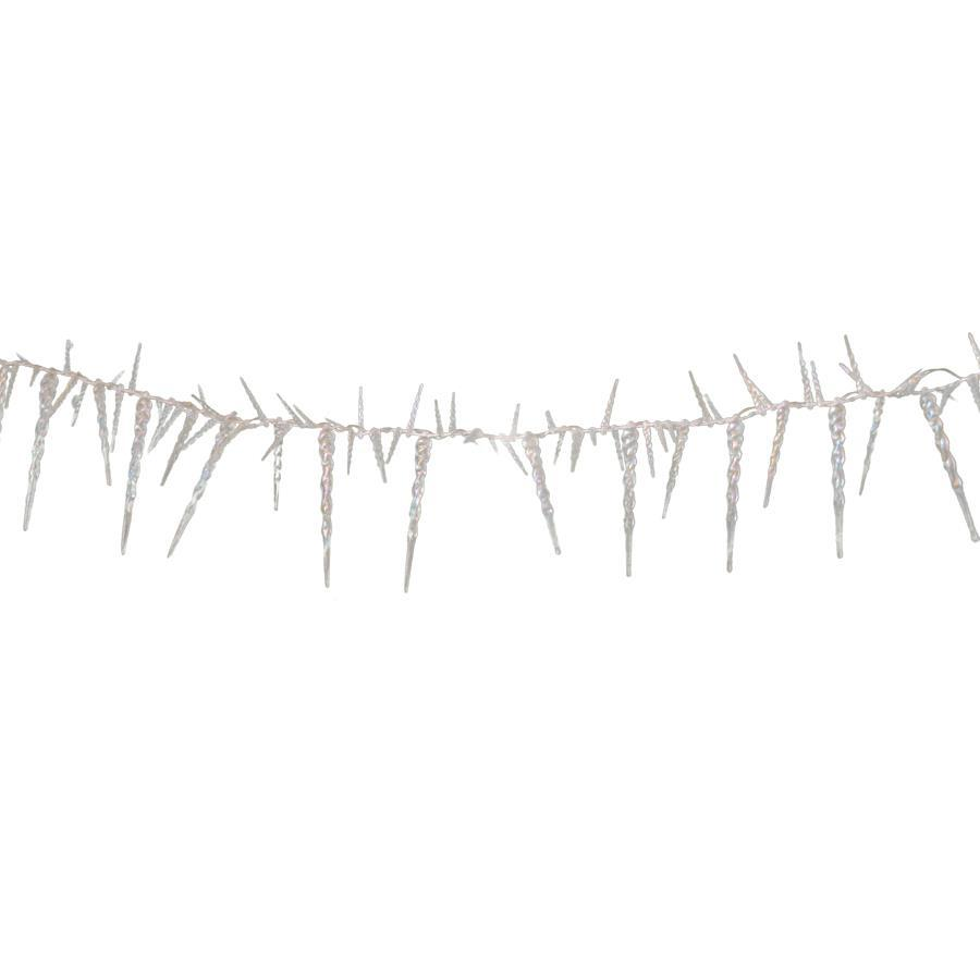 Holiday Living 40-Count 12.79-ft Constant Warm White  Micro Led Battery-Operated Indoor Christmas String Lights Timer