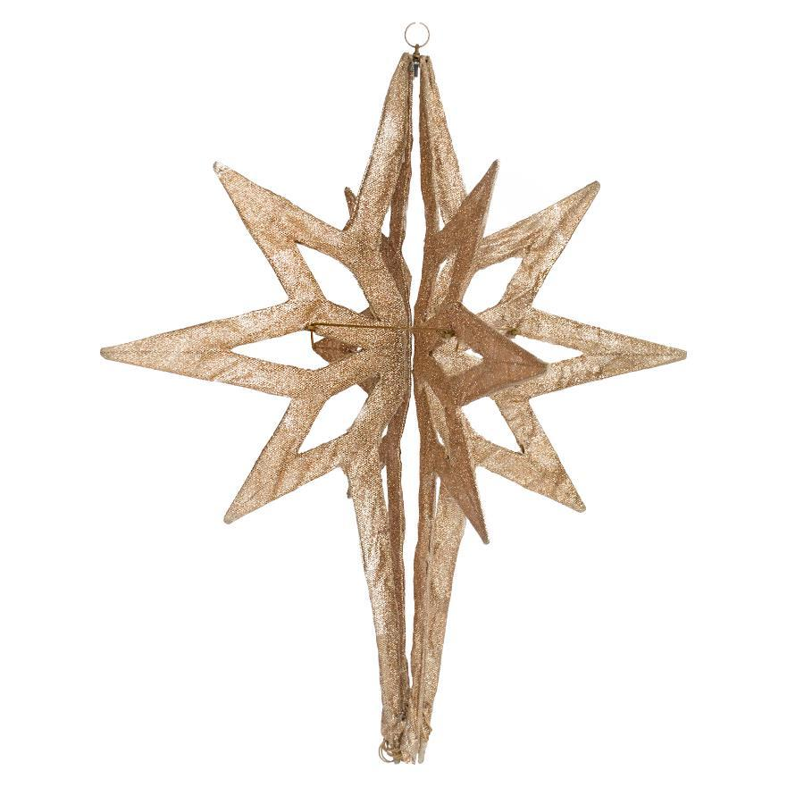 3-ft Hanging Star with Constant White Incandescent Lights