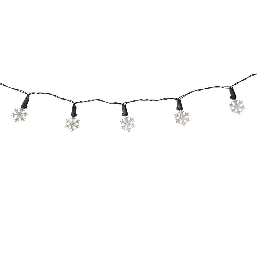Holiday Living 20-Count 6.3-ft Constant Warm White Micro LED Battery-operated Indoor Christmas String Lights