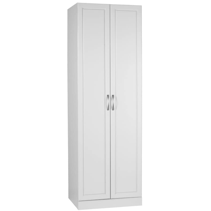 elements 24-in W x 72-in H x 21-in D Wood Composite Garage Cabinet