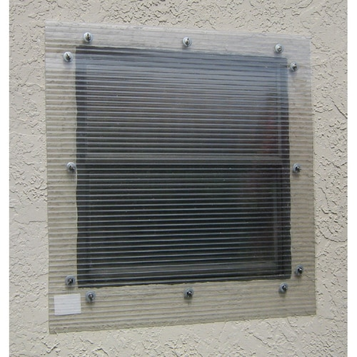 Storm Busters 48 In X 96 In Clear Polycarbonate Hurricane
