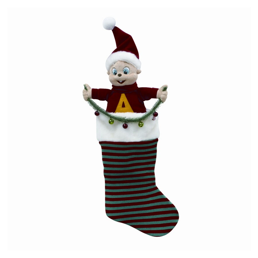 alvin and the chipmunks 22 musical alvin christmas stocking - Alvin And The Chipmunks Christmas