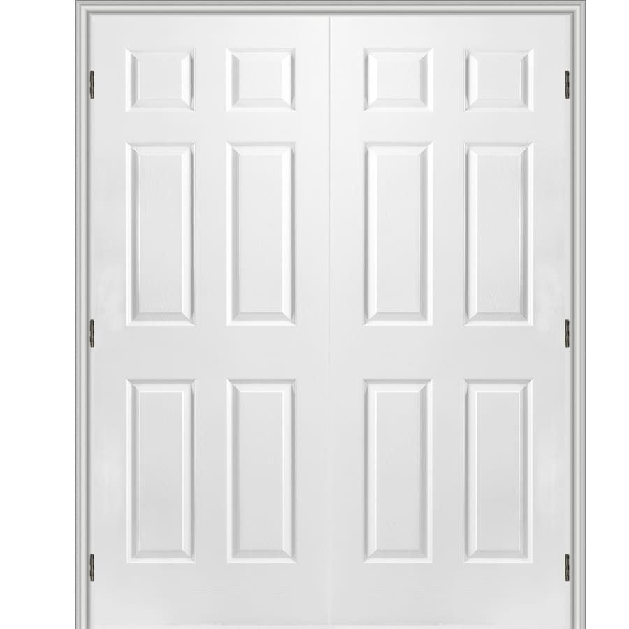 Reliabilt Prehung Hollow Core 6 Panel Interior Door