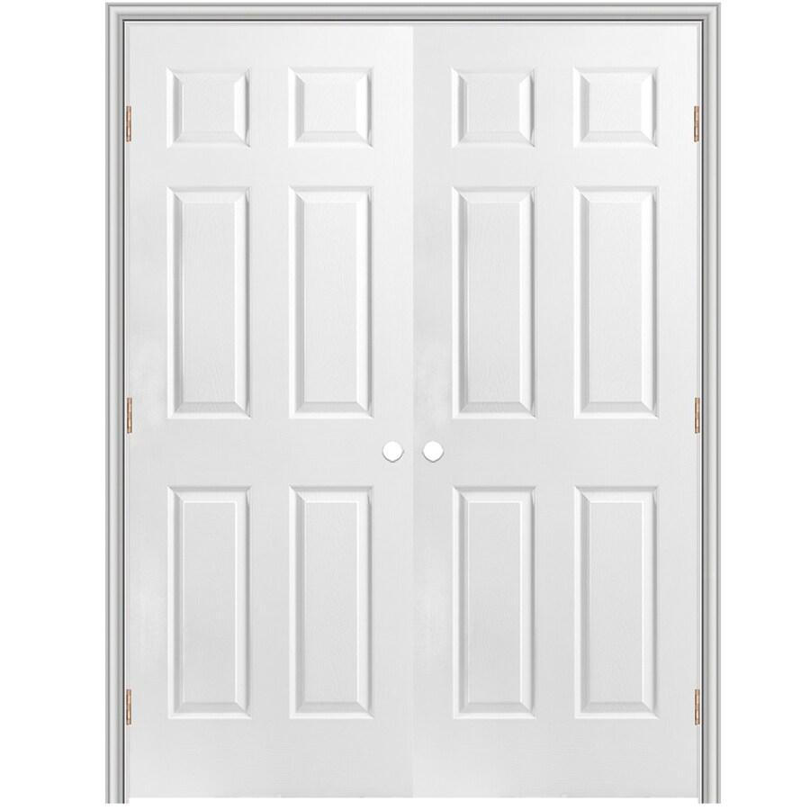 ReliaBilt Classics 6 Panel Slab Interior Door (Common: 60 In X 80