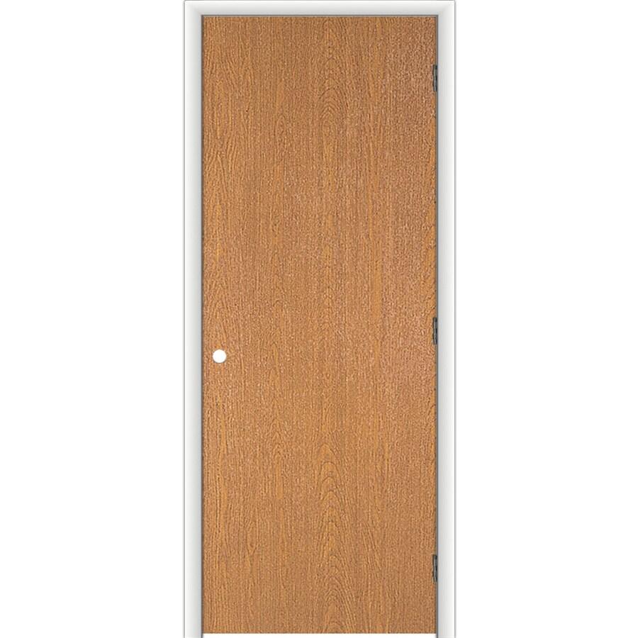 Shop Reliabilt Classics Flush Lauan Single Prehung Interior Door