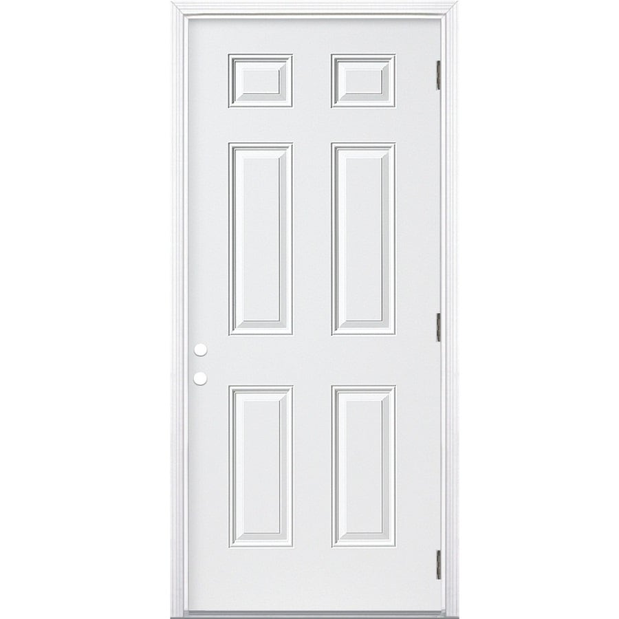 Outswing door doors for Prehung exterior door