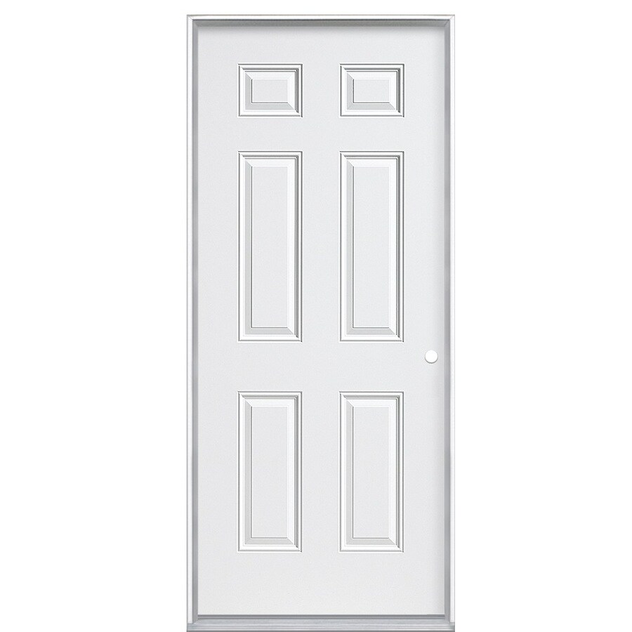 mobile home doors lowes. ReliaBilt Left Hand Inswing Primed Steel Prehung Entry Door with Insulating  Core Common Shop