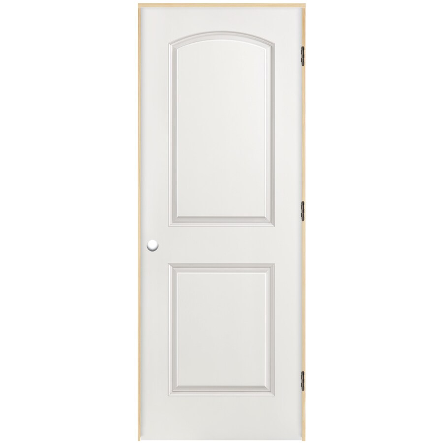Attrayant ReliaBilt Prehung Hollow Core 2 Panel Arch Top Interior Door (Common: 28