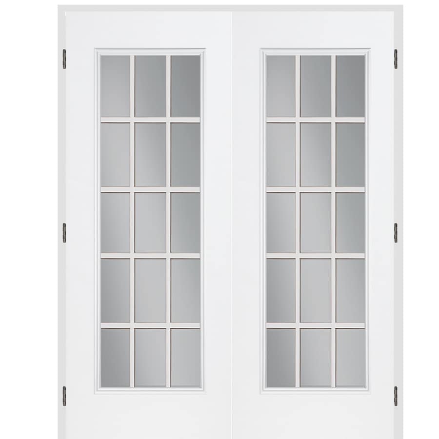 High Quality Awesome French Doors Interior Lowes Part   12: ReliaBilt Classics 15 Lite  Clear Glass