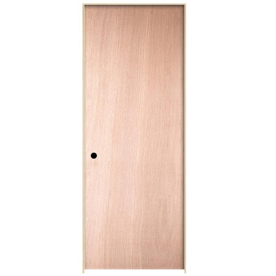 ReliaBilt Prehung Hollow Core Flush Lauan Interior Door