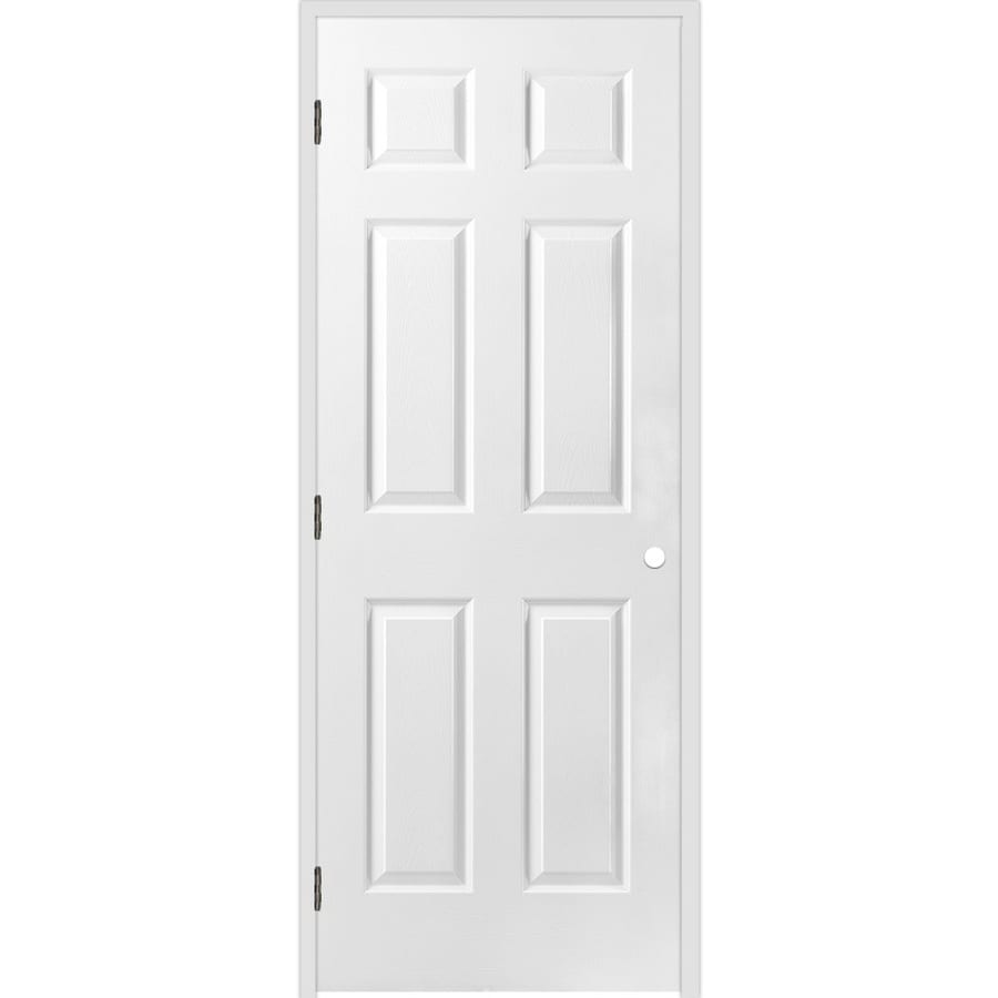 ReliaBilt Classics  6-panel Single Prehung Interior Door (Common: 28-in X 80-in; Actual: 29.5-in x 81.5-in)
