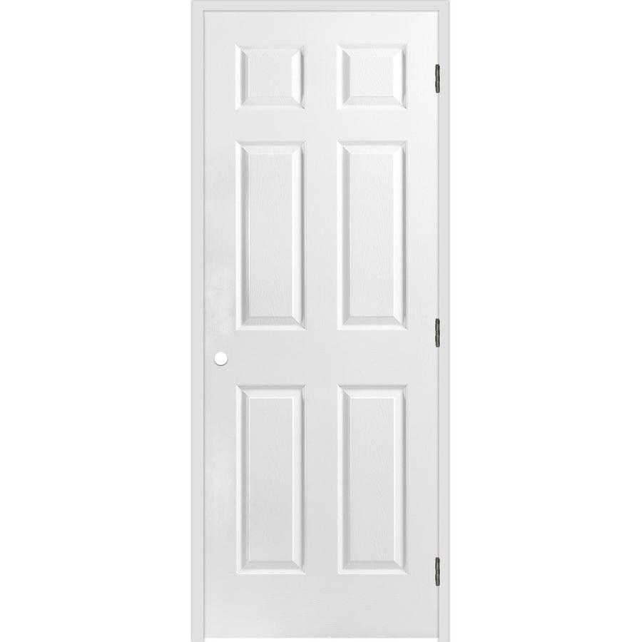 ReliaBilt Classics  6-panel Single Prehung Interior Door (Common: 28-in X 80-in; Actual: 29.5-in x 81.5-in)