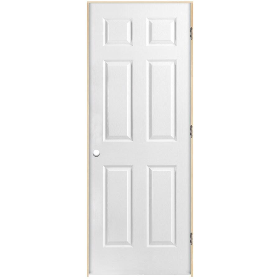 Shop Reliabilt Classics 6 Panel Single Prehung Interior Door Common 30 In X 80 In Actual 31