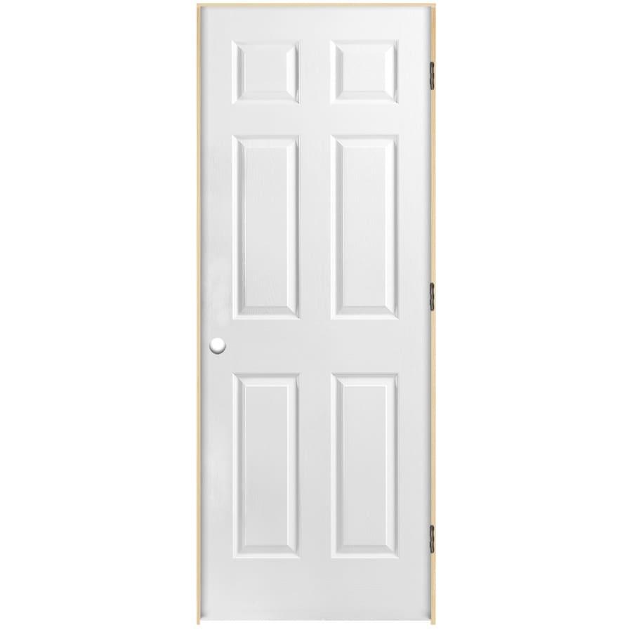 ReliaBilt Classics  6-panel Single Prehung Interior Door (Common: 32-in X 80-in; Actual: 33.5-in x 81.5-in)