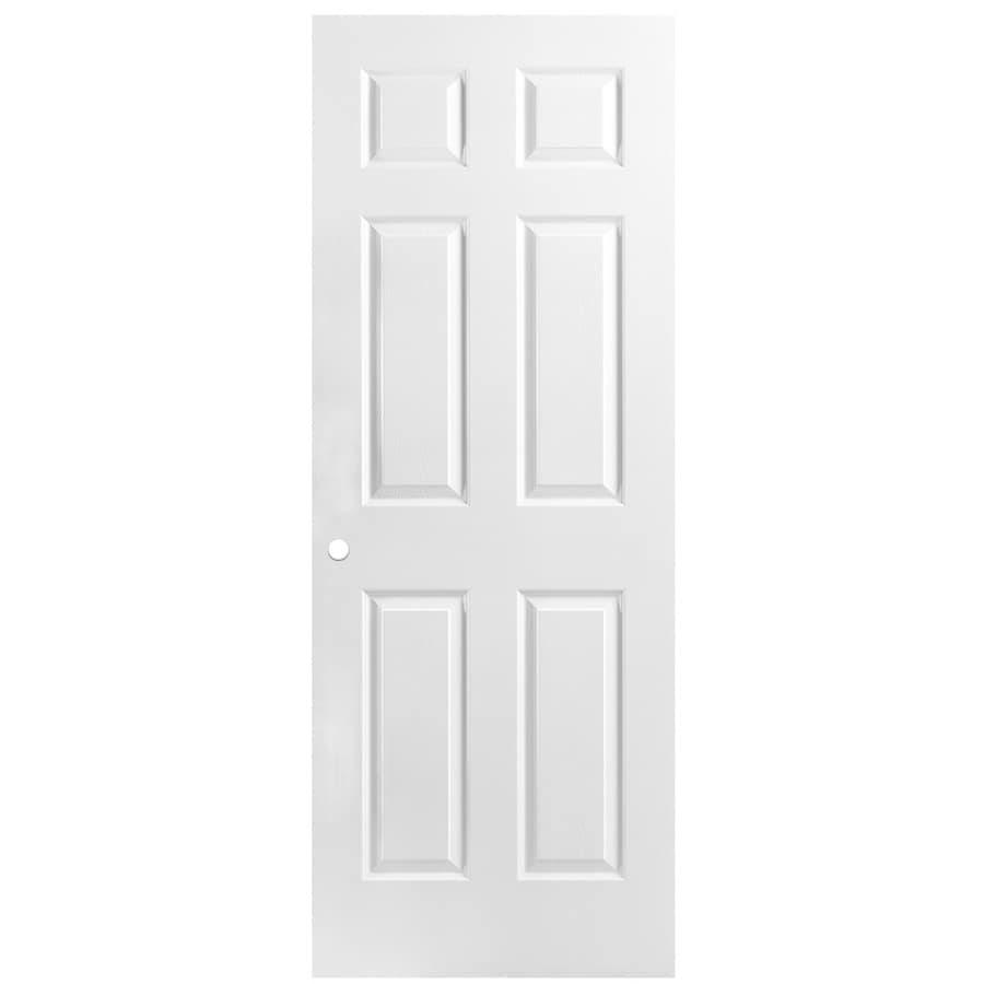 ReliaBilt Classics  6-panel Slab Interior Door (Common: 28-in X 80-in; Actual: 28-in x 80-in)