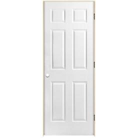 Elegant ReliaBilt Classics 6 Panel Single Prehung Interior Door (Common: 28 In X