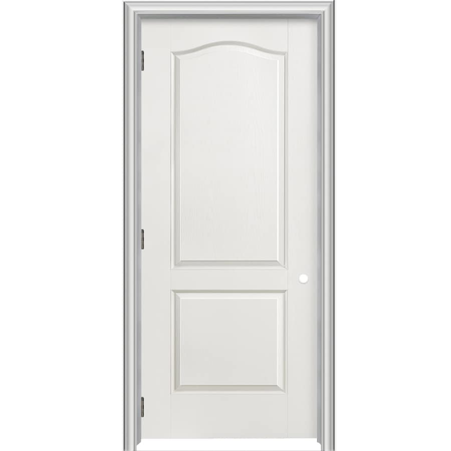 Shop reliabilt classics 2 panel arch top single prehung for 18 inch pre hung interior door