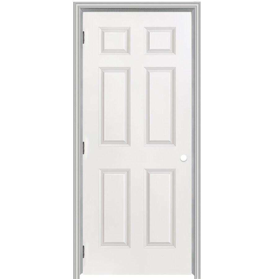 Shop reliabilt classics 6 panel single prehung interior door common reliabilt classics 6 panel single prehung interior door common 32 in x planetlyrics Choice Image