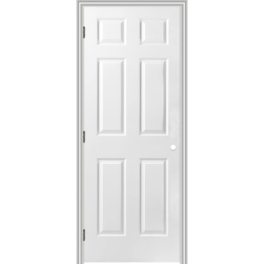ReliaBilt Classics  6-panel Single Prehung Interior Door (Common: 30-in X 80-in; Actual: 31.5-in x 81.5-in)