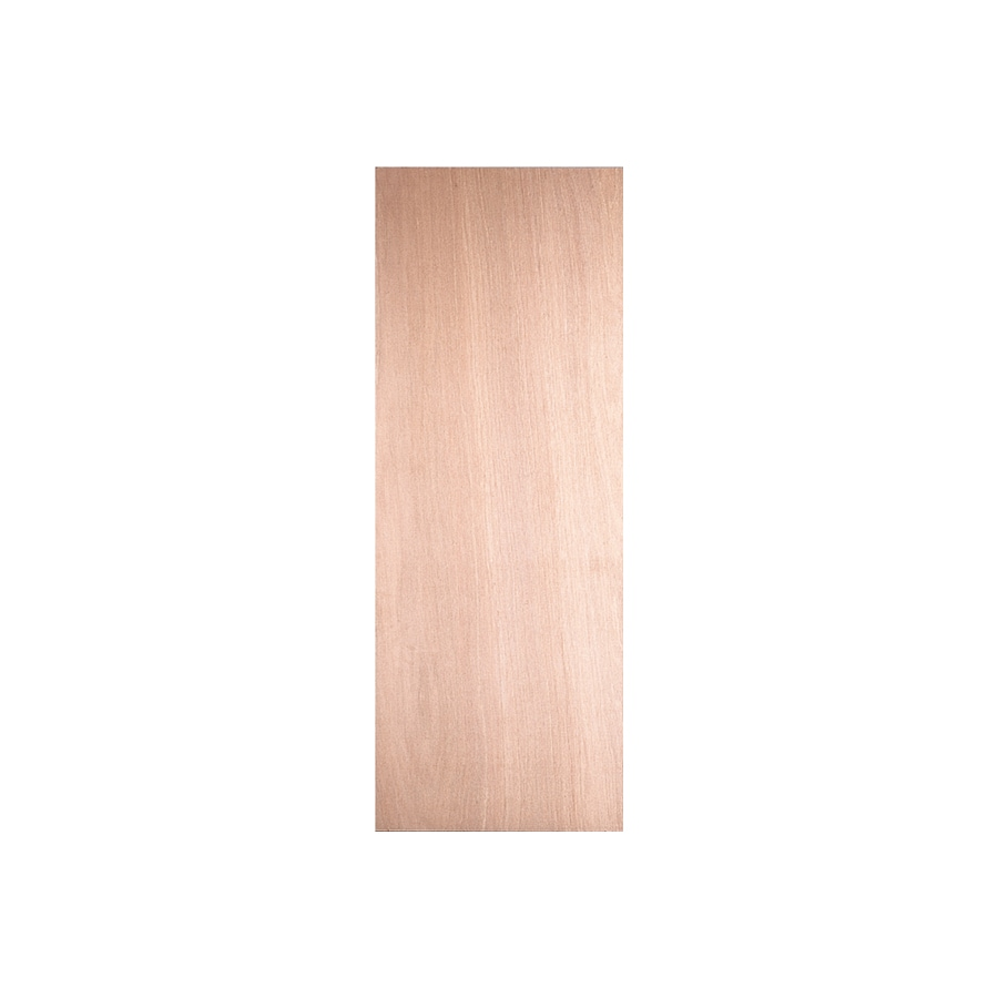 ReliaBilt 36-in x 84-in Lauan Wood Entry Door