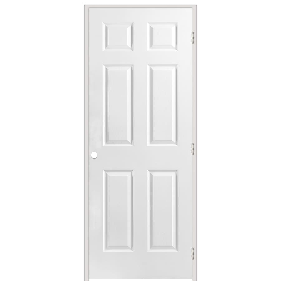 Shop reliabilt classics 6 panel single prehung interior for 6 panel interior doors