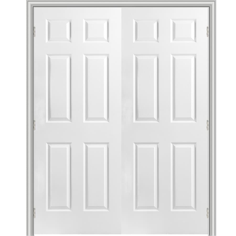 Shop Reliabilt Classics 6 Panel Slab Interior Door Common 48 In X 80 In Actual 49 5 In X 81