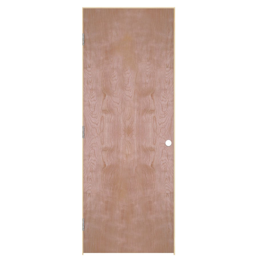 ReliaBilt Classics Hollow Core Veneer Birch Single Prehung Interior Door (Common: 24-in x 80-in; Actual: 25.5-in x 81.5-in)