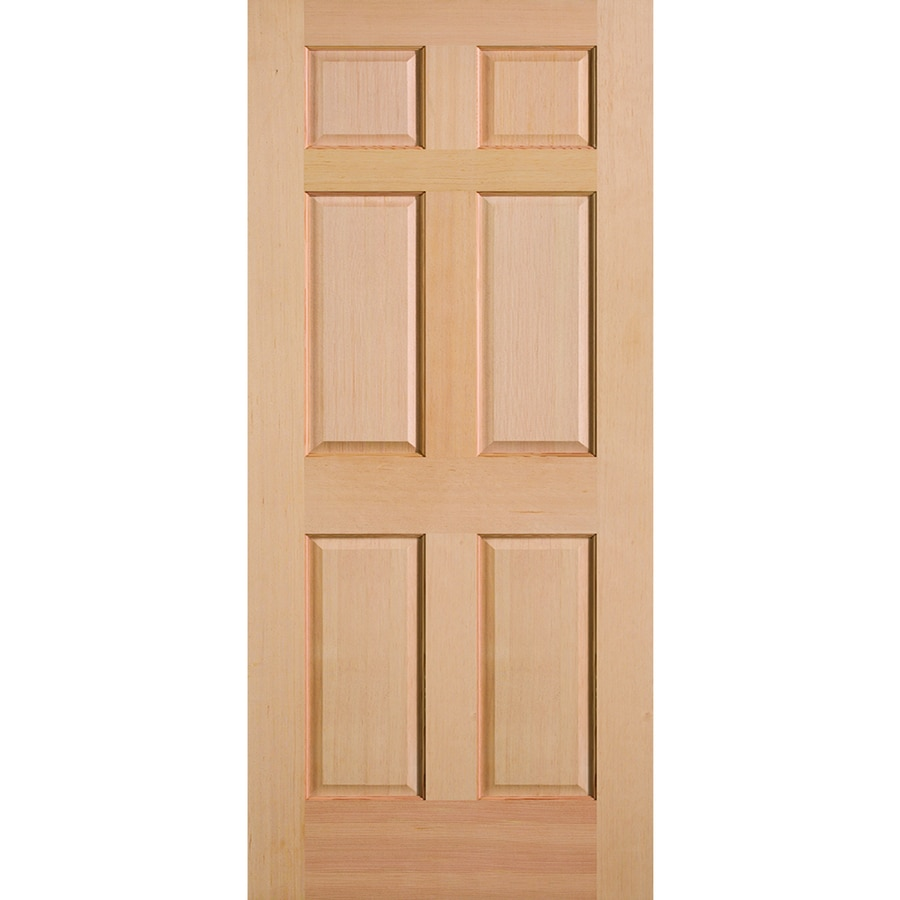 Solid Doors Lowes Reliabilt Full Lite Solid Wood Frosted Interior Slab Door Lowe S Sc 1 St