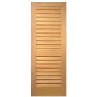 Masonite Slab Doors Unfinished Louver Solid Core Wood Slab