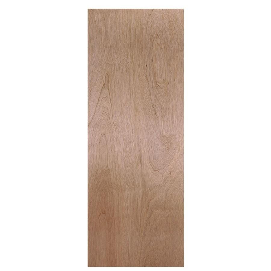 Masonite Flush Hollow Core Veneer Hardwood Slab Interior Door (Common: 28-in x 78-in; Actual: 28-in x 80-in)