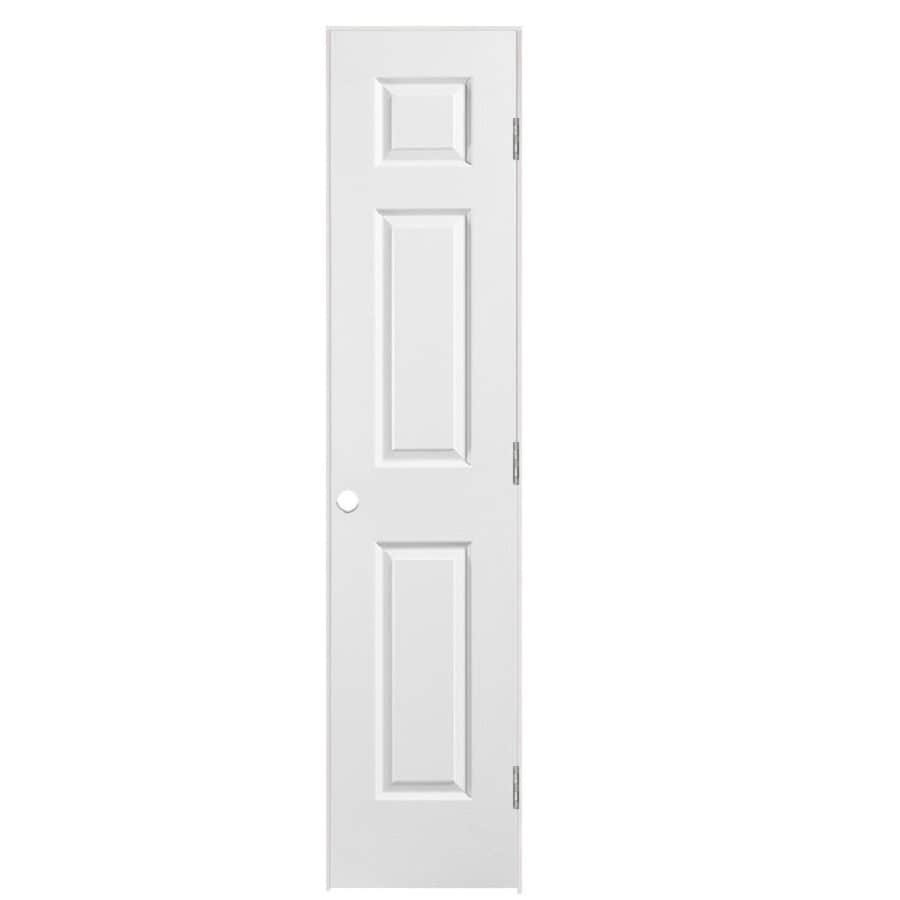 Masonite 6 Panel Hollow Core Molded Composite Single Pre Hung Door Common