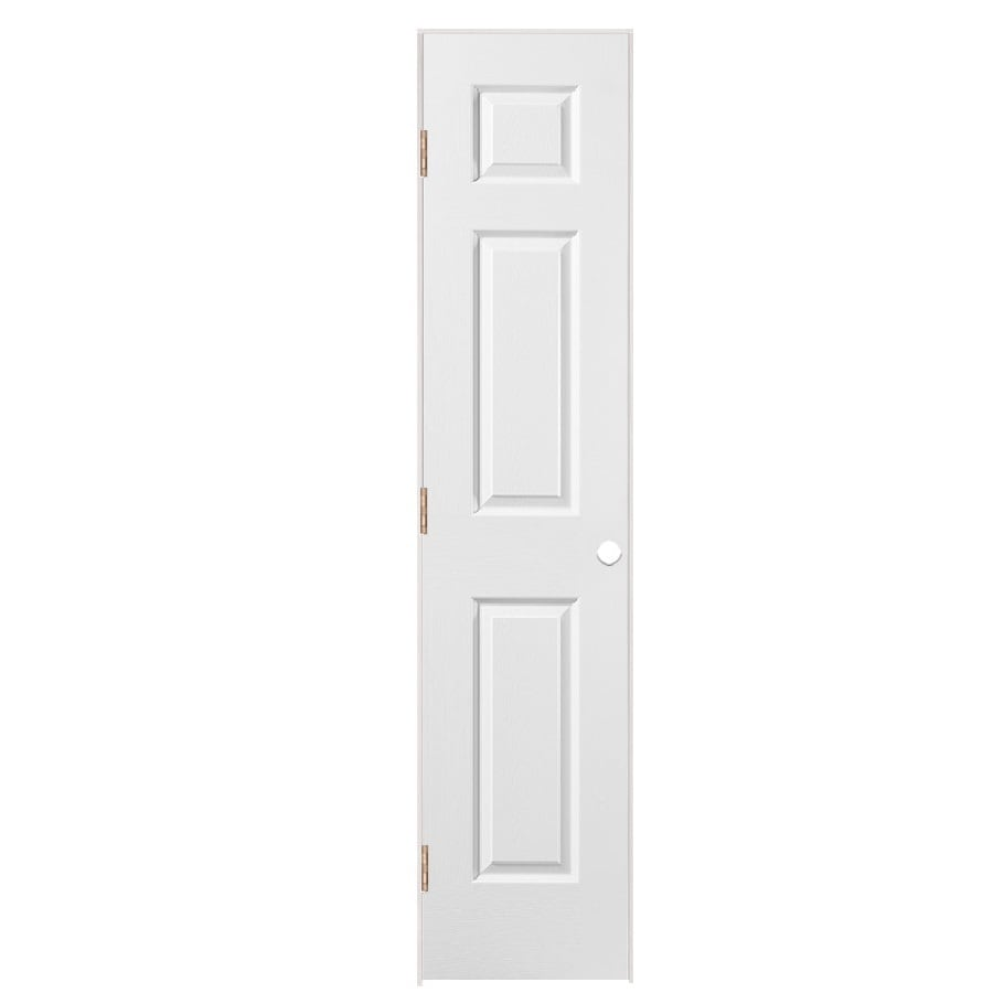 Masonite Classics  6-panel Single Prehung Interior Door (Common: 18-in X 80-in; Actual: 19.5-in x 81.5-in)