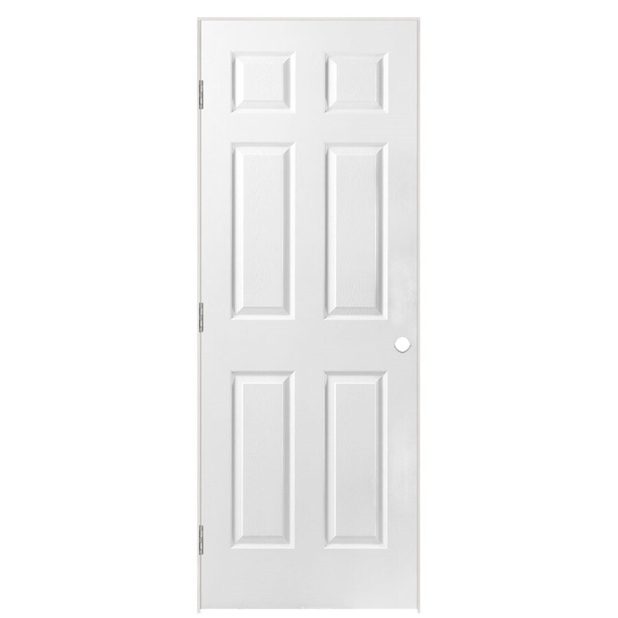 Masonite Classics  6-panel Single Prehung Interior Door (Common: 28-in X 78-in; Actual: 29.5-in x 79.5-in)