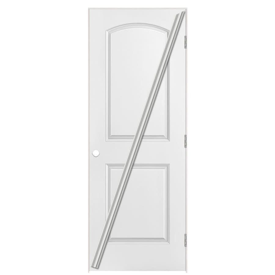 Masonite Classic Primed Hollow Core Molded Composite Prehung Interior Door (Common: 24-in x 80-in; Actual: 25.5-in x 81.5-in)