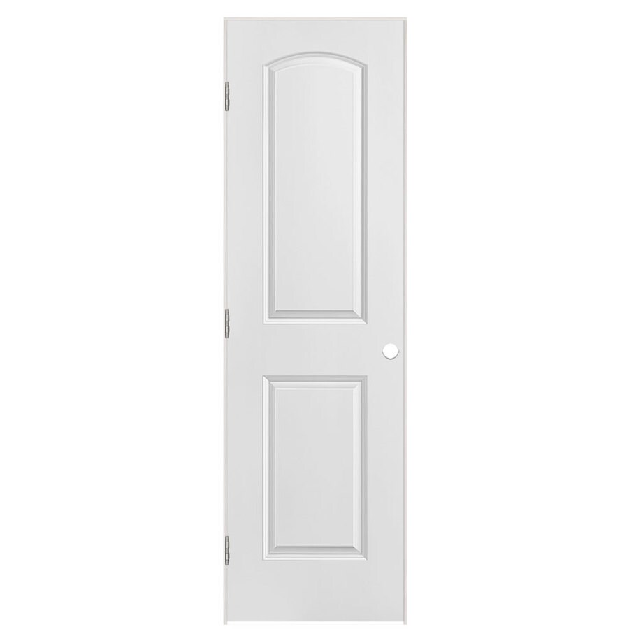 Masonite Classics (Primed) Hollow Core Molded Composite Single Prehung Interior Door (Common: 24-in X 80-in; Actual: 25.5-in x 81.5-in)