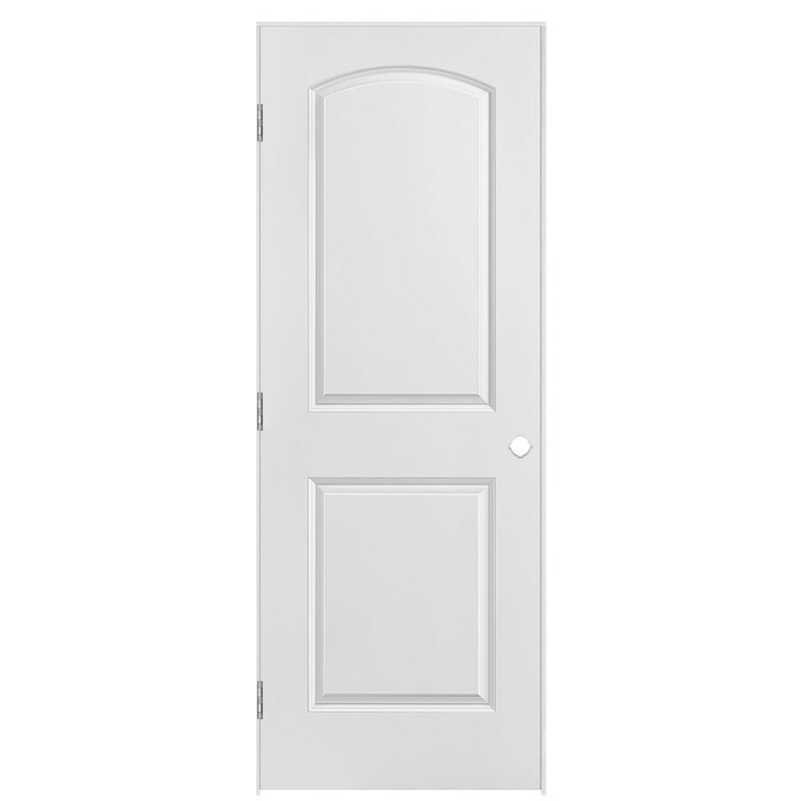 Masonite Primed Molded Composite Interior Door (Common: 28-in x 80-in; Actual: 29.5-in x 81.5-in)