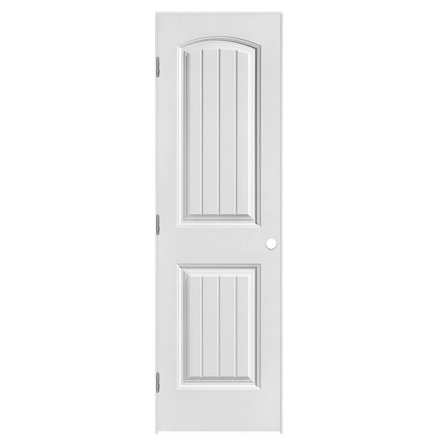 Masonite Primed Molded Composite Interior Door (Common: 24-in x 80-in; Actual: 25.5-in x 81.5-in)