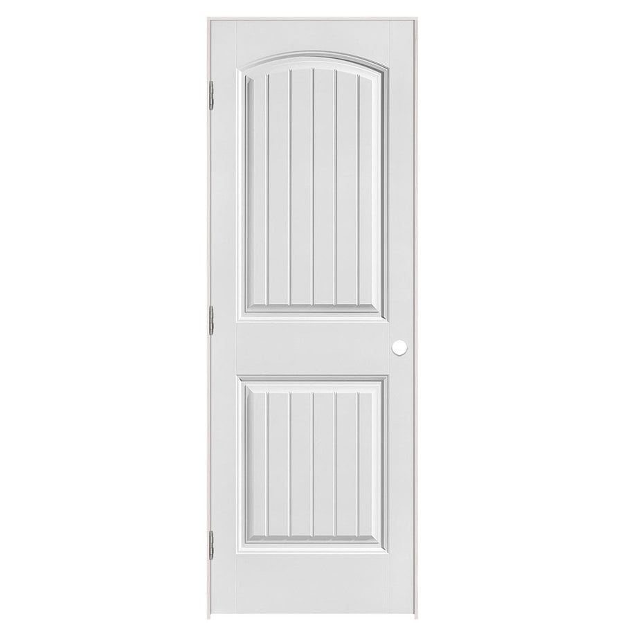 Masonite Classics (Primed) Hollow Core Molded Composite Single Prehung Interior Door (Common: 28-in X 80-in; Actual: 29.5-in x 81.5-in)